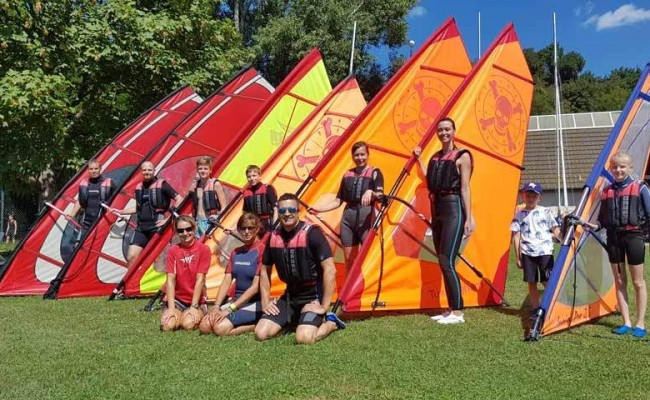 Szörf tanulók