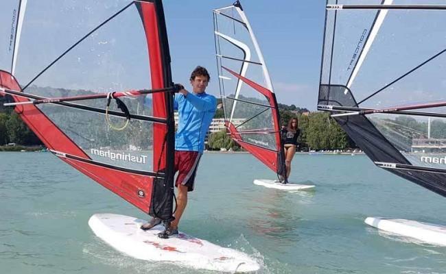 Haladó szörf tanfolyam