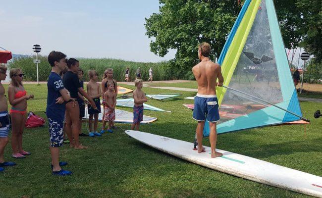 Szárazföldi szörf oktatás