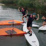 Októberi szörfözés a Balatonon